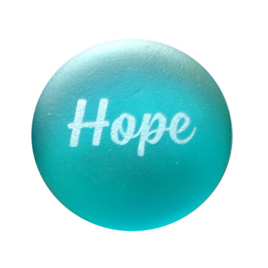 Hope Sea Stone from Lifeforce Glass, Inc.