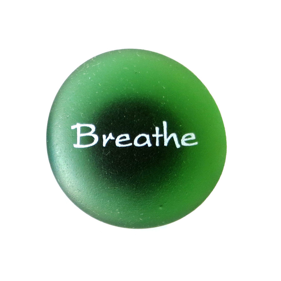The Mermaid's Message Magnet, Breathe From Lifeforce Glass