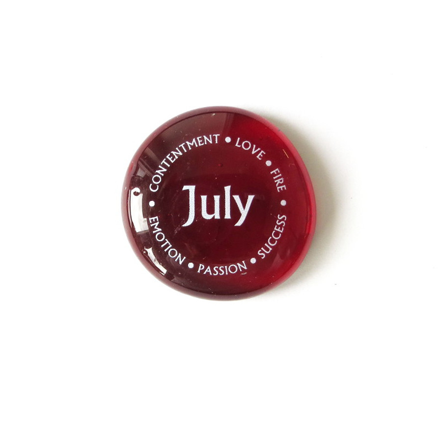 July Birthstone from Lifeforce Glass, Inc.
