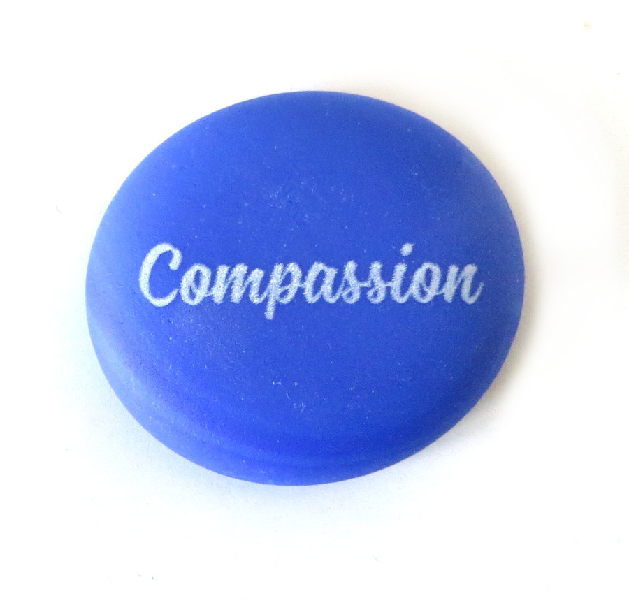 Sea Stone Compassion from Lifeforce Glass, Inc.