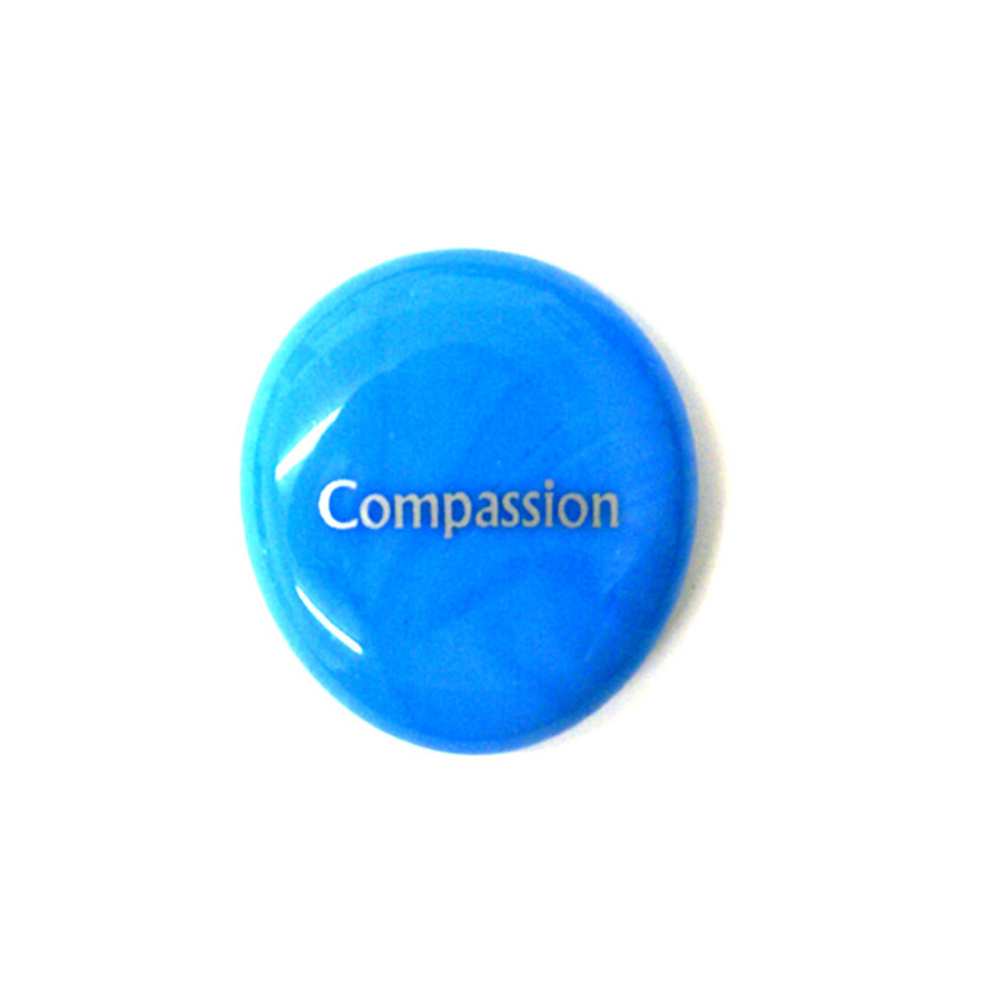 Compassion... Glass Stone from Lifeforce Glass