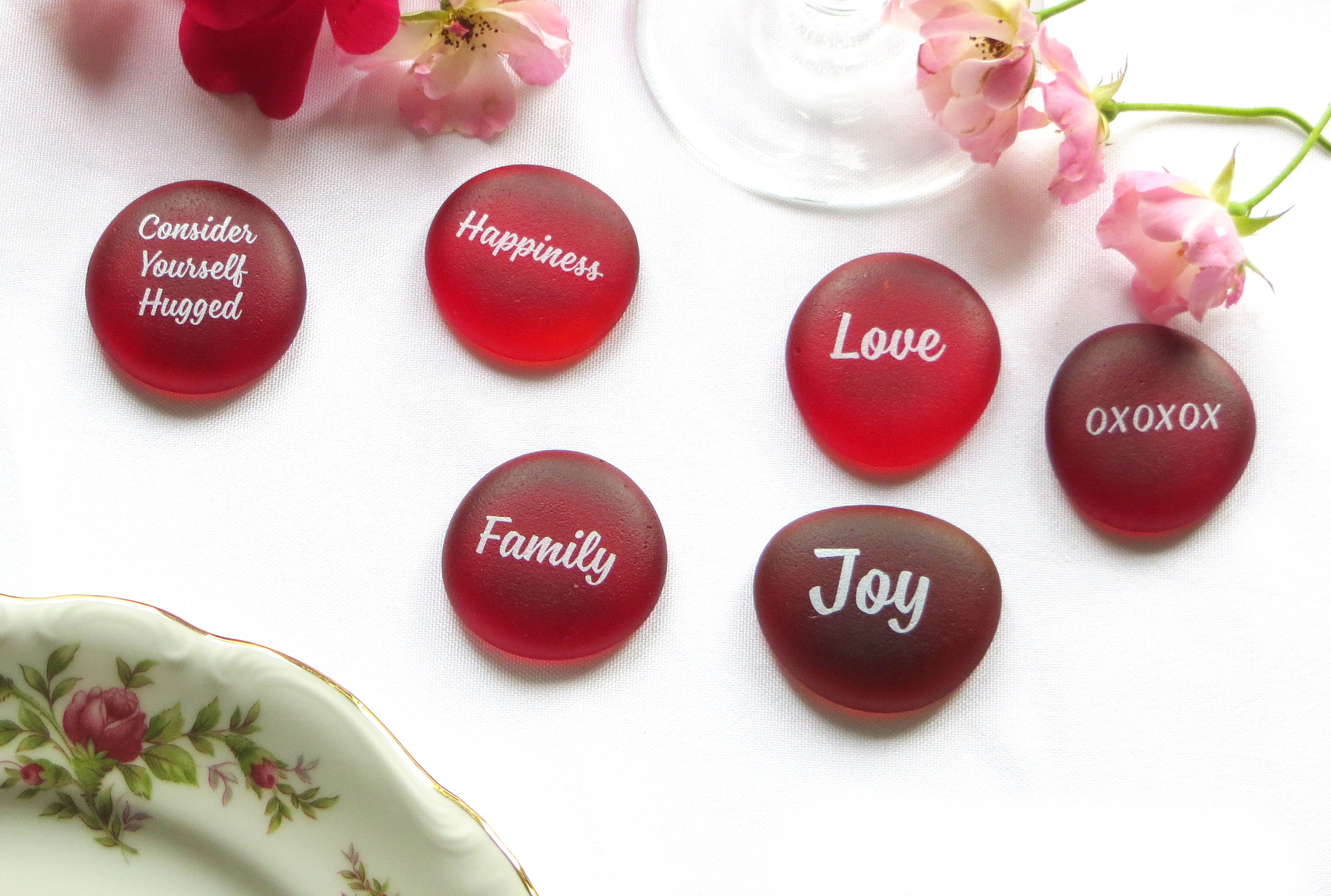 Wedding Stones- How we determined the sayings.