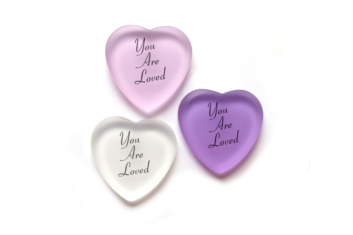"Long Overdue: ""You Are Loved"" Hearts"