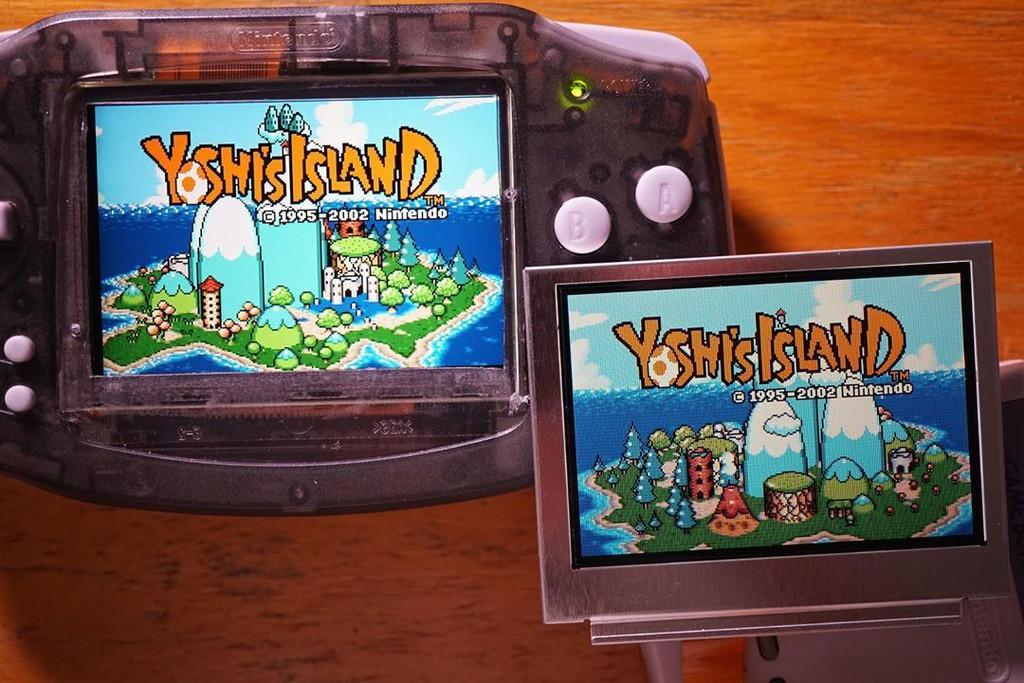 Game Boy Advance Backlit IPS LCD