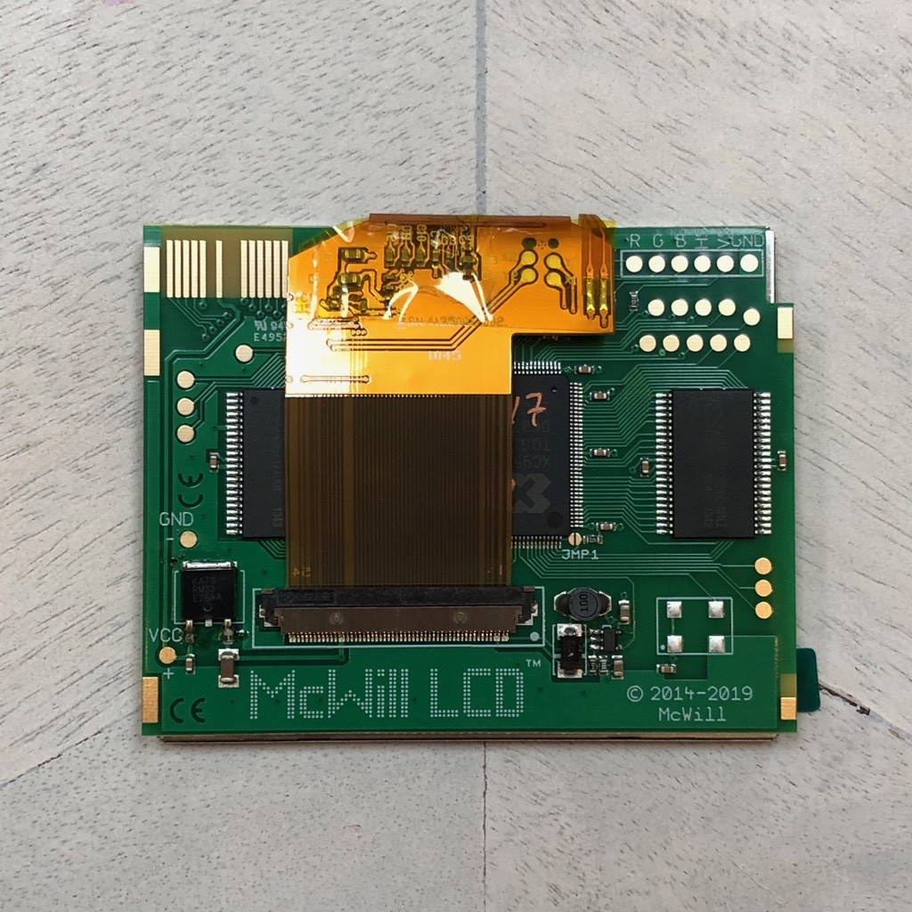Game Gear McWill LED LCD