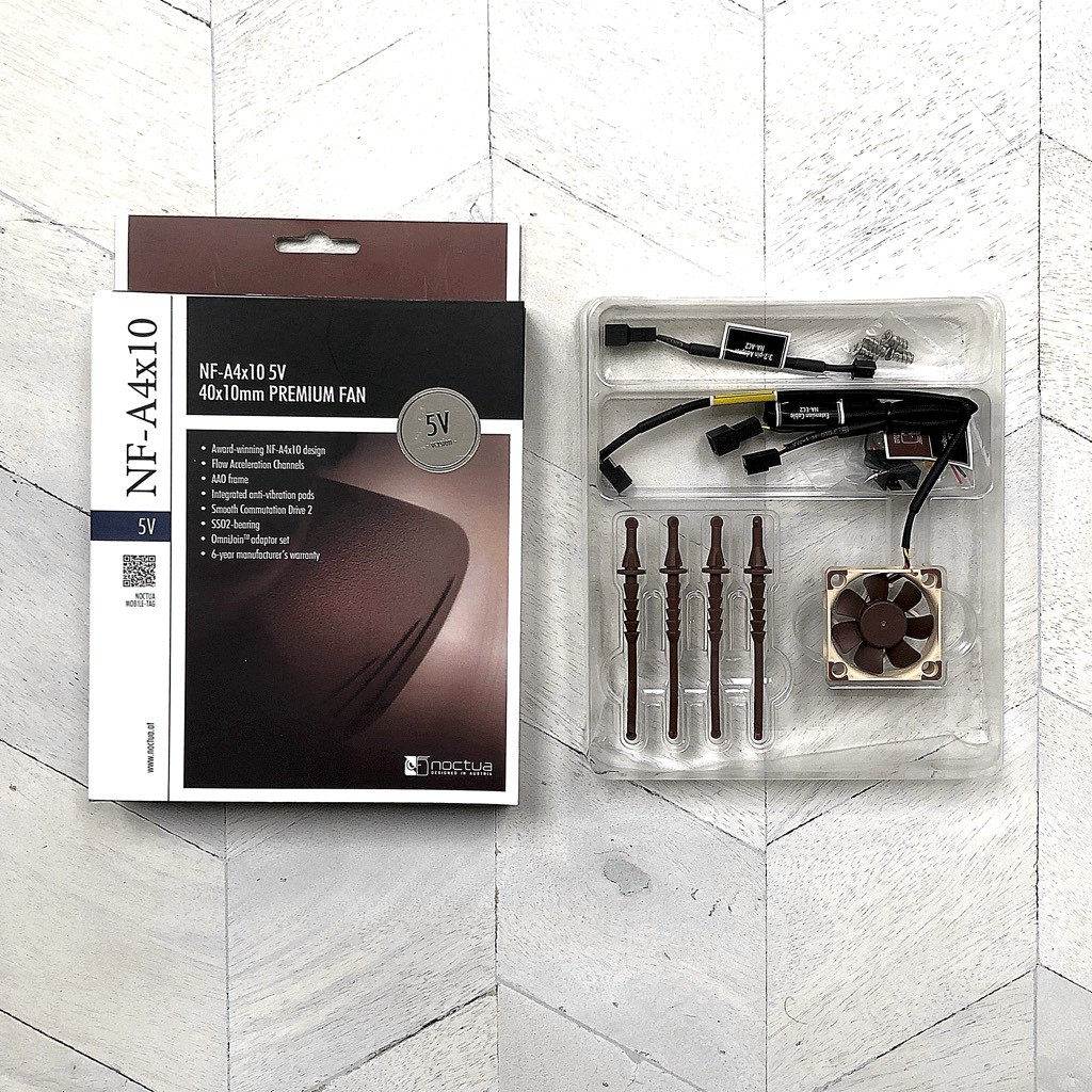 Noctua Silent Fan Mod Kit