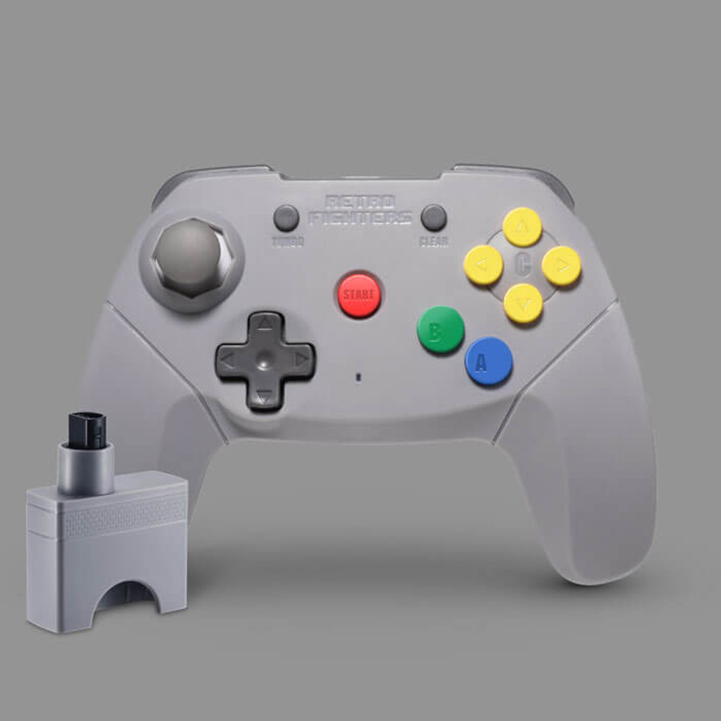 Brawler64 Wireless Edition (Gray)