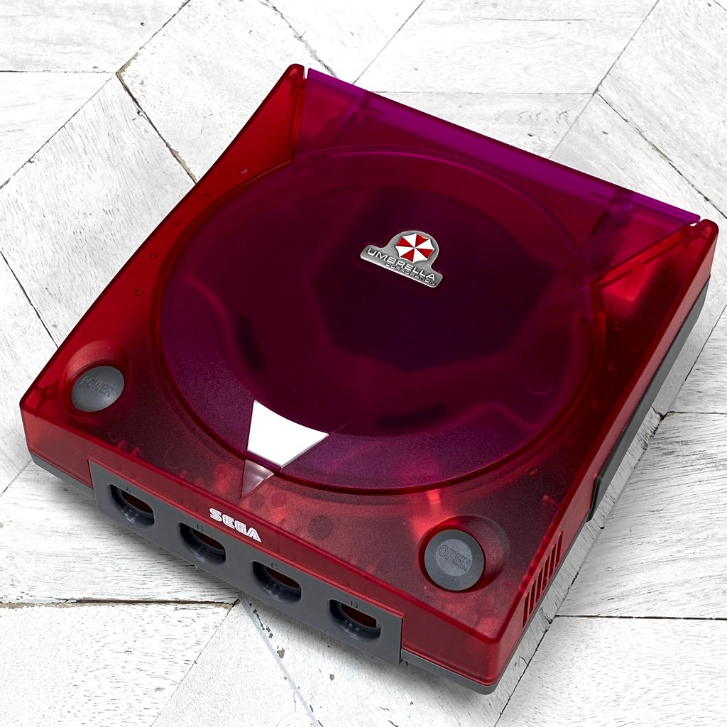 Dreamcast Replacement Shell Umbrella Red