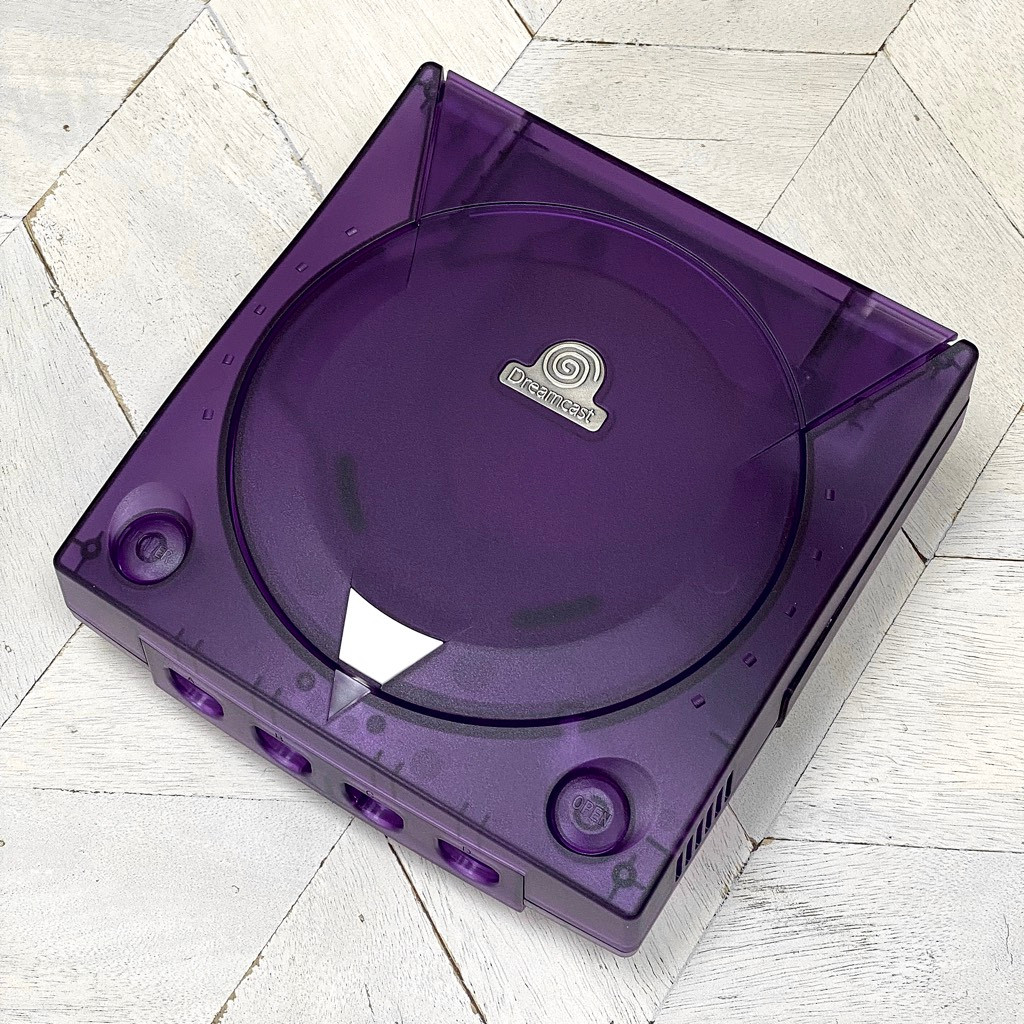 Dreamcast Replacement Shell - Crystal Purple