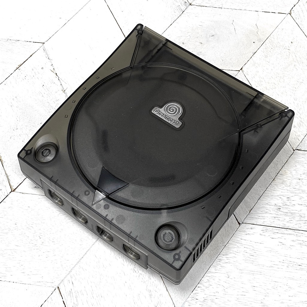 Dreamcast Replacement Shell - Crystal Black