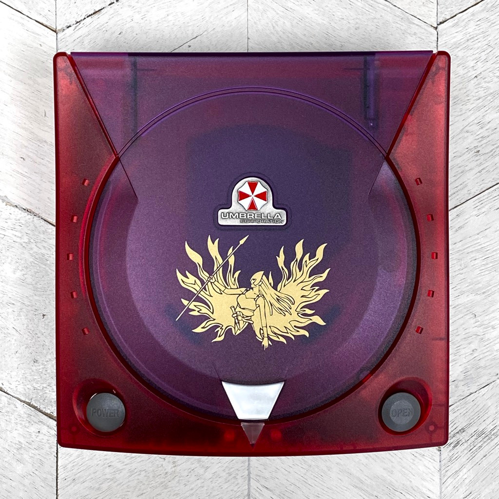 Dreamcast Replacement Shell - Red Code Veronica