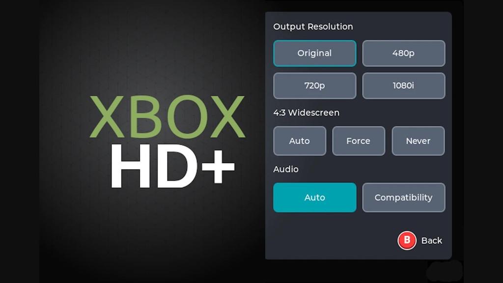 XboxHD+ with OpenXenium