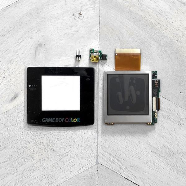 Game Boy Color Backlit McWill LCD Full Kit