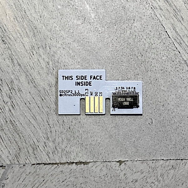 SD2SP2 MicroSD Adapter