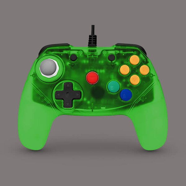 Brawler64 Colour Edition (Green)