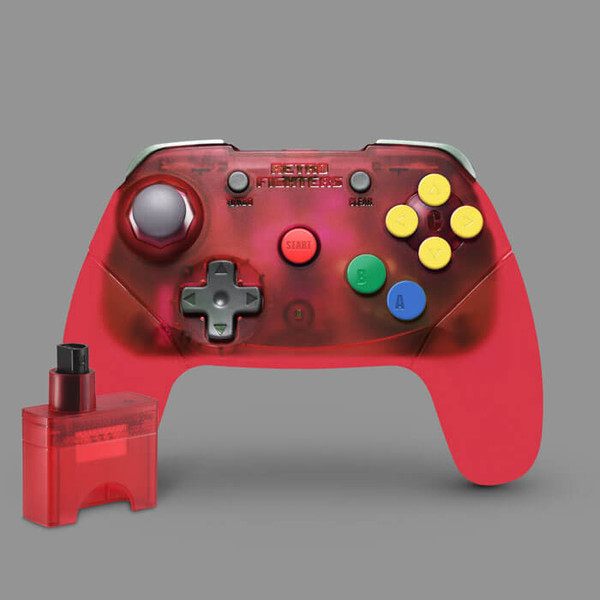 Brawler64 Wireless Edition (Red)