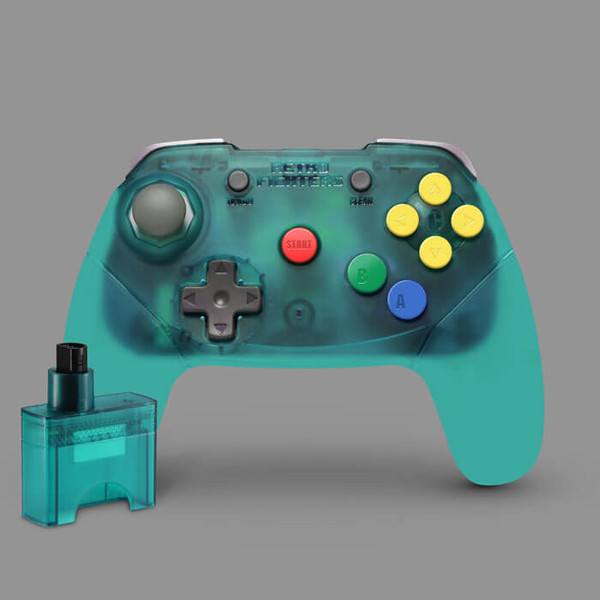Brawler64 Wireless Edition (Blue)