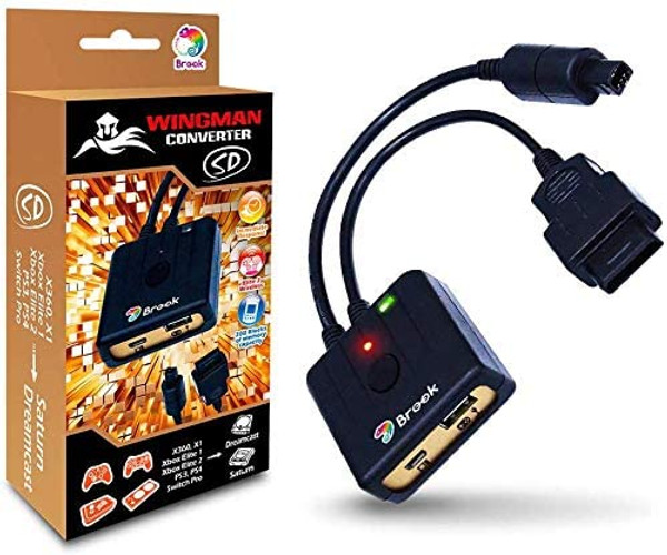Brook Wingman Converter SD (for Dreamcast & Saturn)