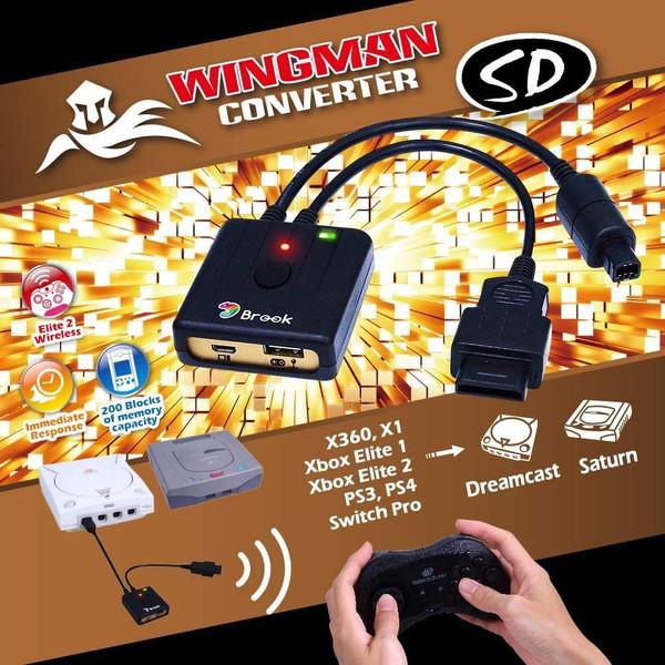 Brook Wingman Converter SD (for Dreamcast & Saturn)
