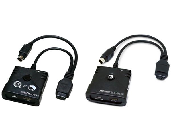 Brook PS3/PS4 to Mega Drive/PC Engine Super Converter