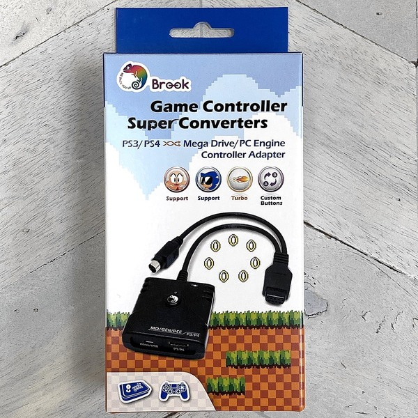 Brook PS2/PS3 to Mega Drive/PC Engine Super Converter