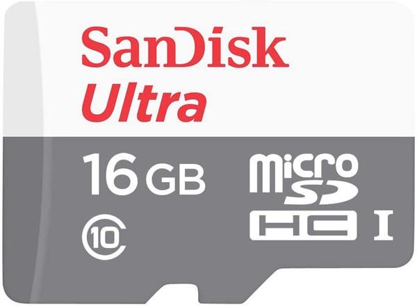 SanDisk Ultra 16GB Class 10 microSDHC Memory Card
