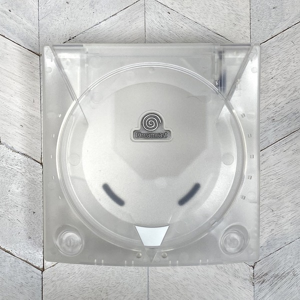 Dreamcast Replacement Shell - Crystal White