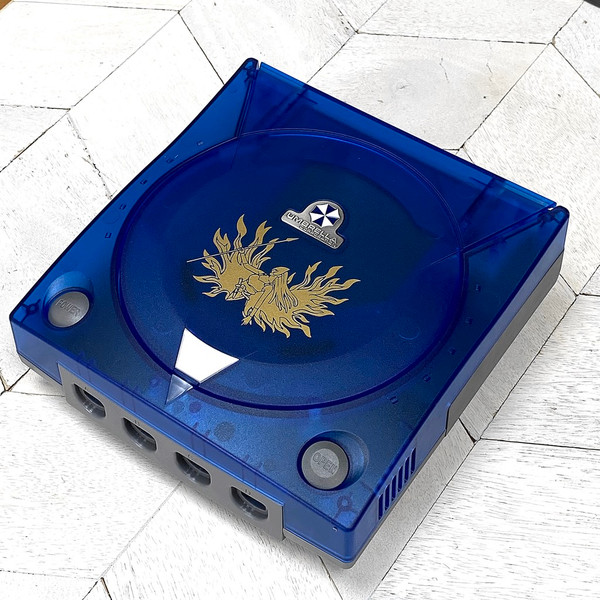 Dreamcast Replacement Shell - Blue Code Veronica