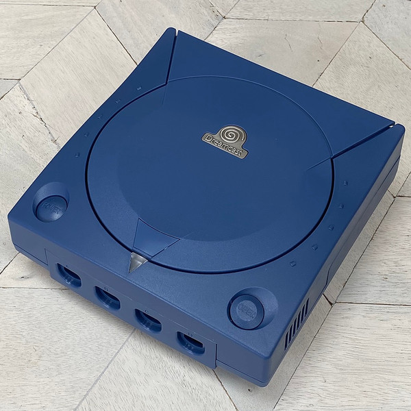 Dreamcast Replacement Shell - Navy Blue Opaque