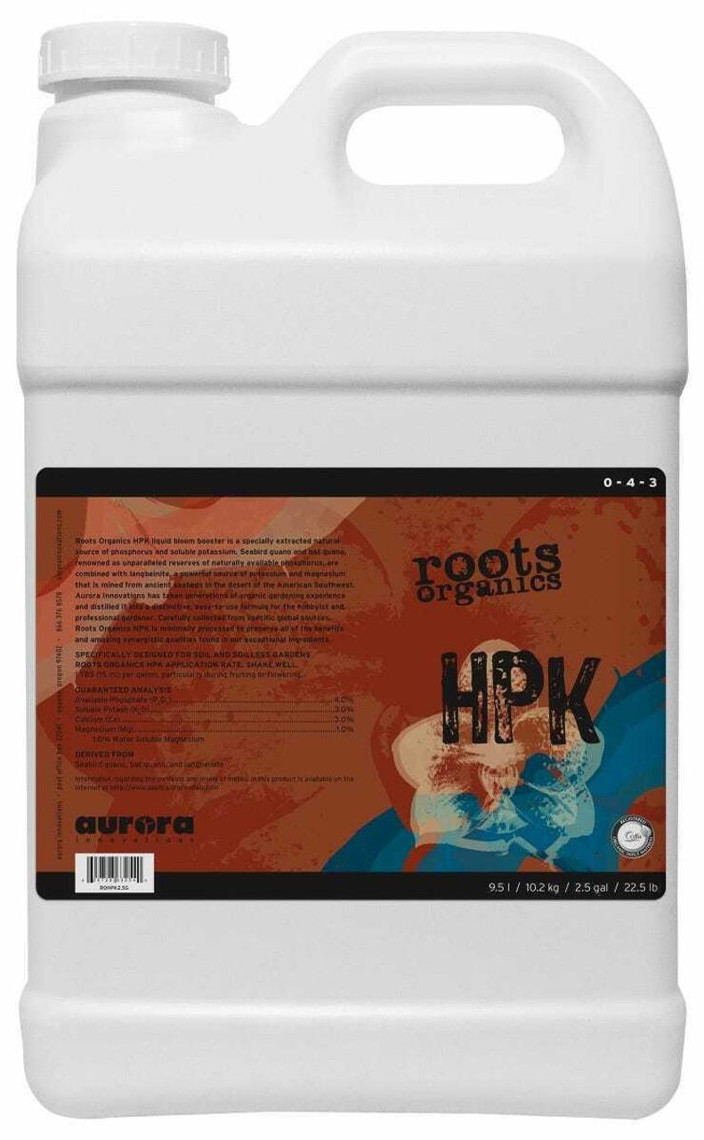 Roots Organics HPK Bat Guano & K-Mag 2.5 Gallon - 1