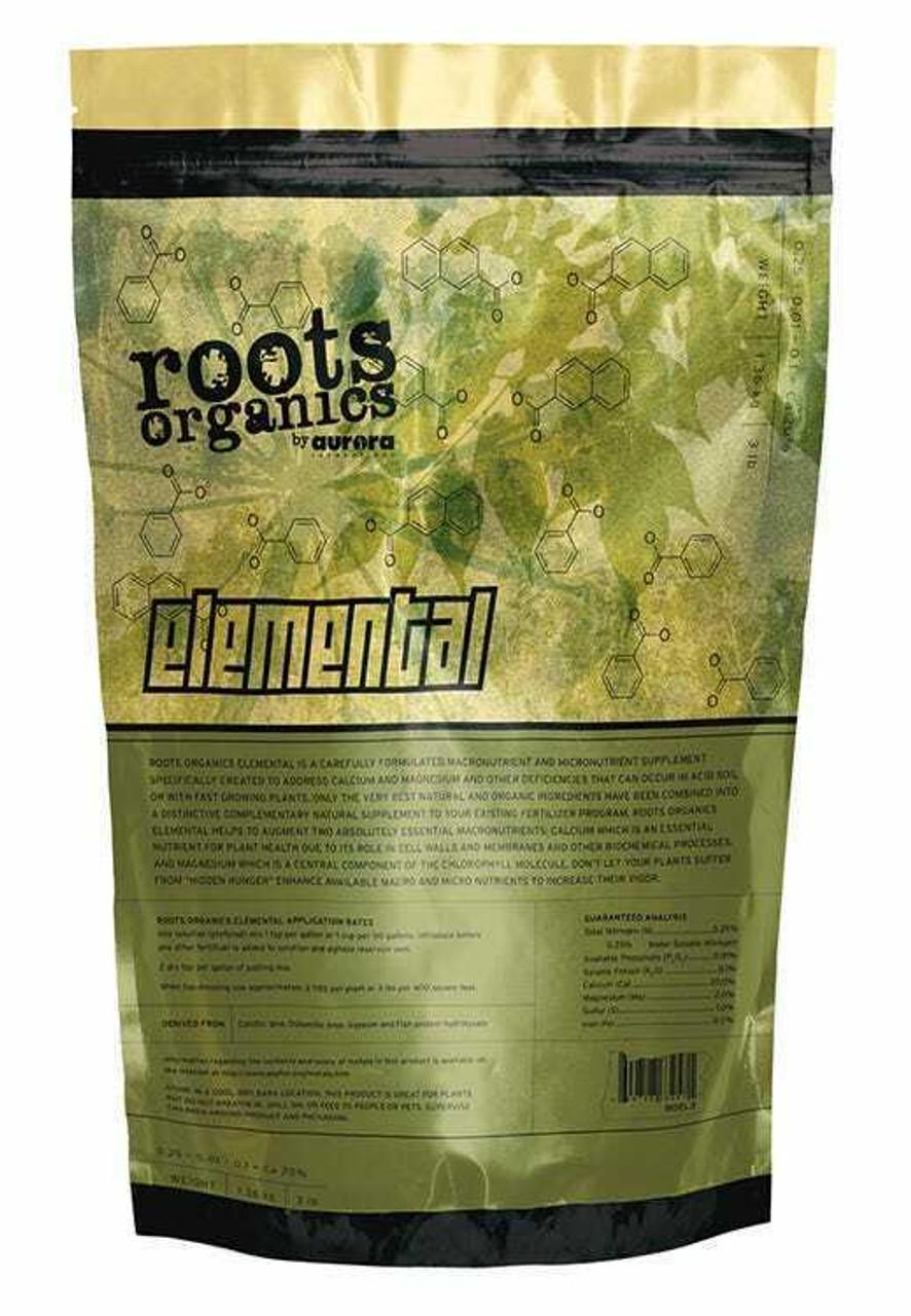Roots Organics Elemental 9 lb 20% Calcium 4% Magnesium - 1