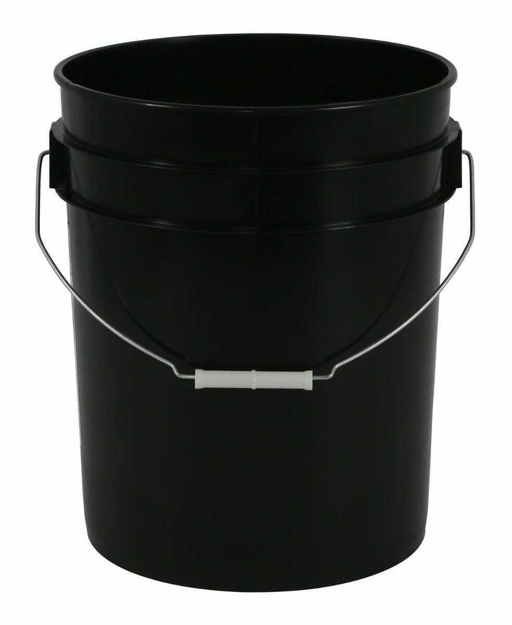 Gro Pro Black Plastic Bucket 5 Gallon - 1