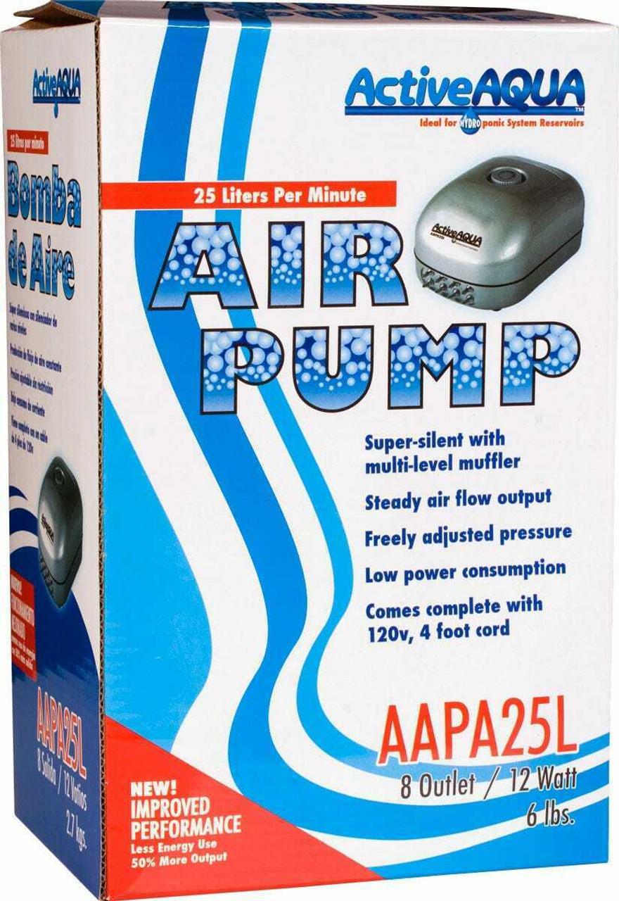 Air Pump 8 Outlets 12W 25L/min - 1