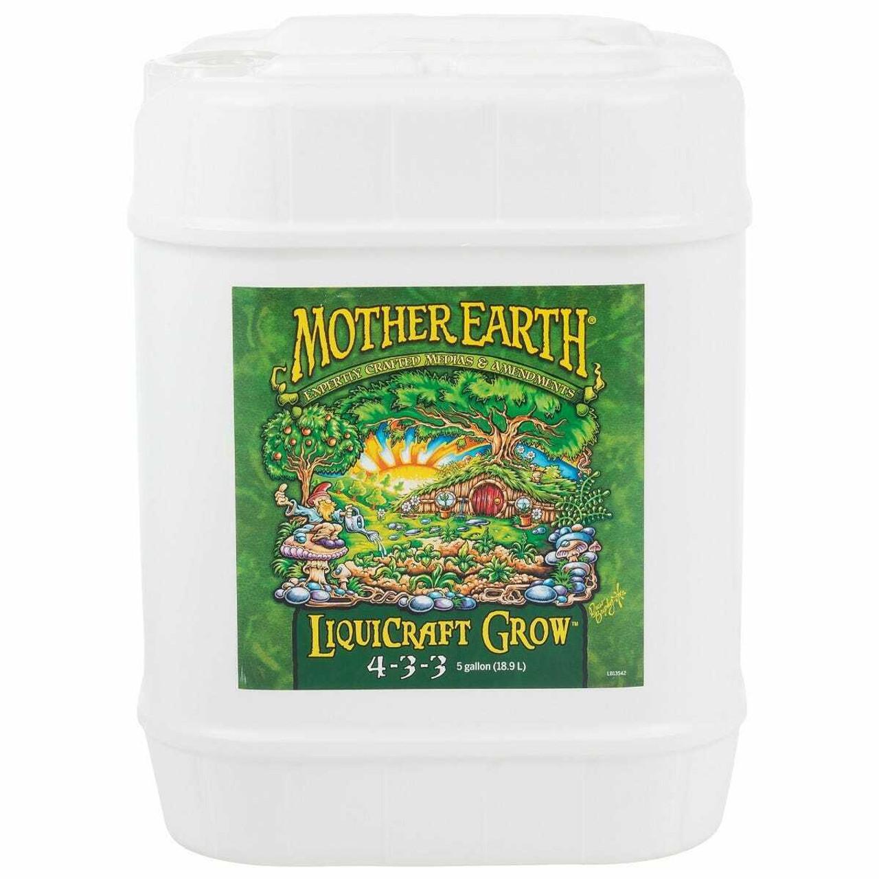 Mother Earth LiquiCraft Grow 4-3-3 5Gal