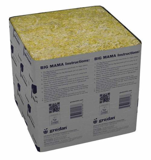 Grodan Delta Big Mama Block 8 in x 8 in x 8 in (18CT) - 1