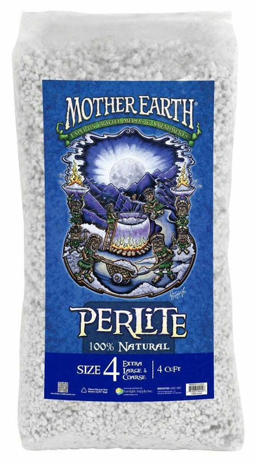 Mother Earth Perlite # 4 - 4 cu ft  (Freight/In-Store Pickup Only) - 1