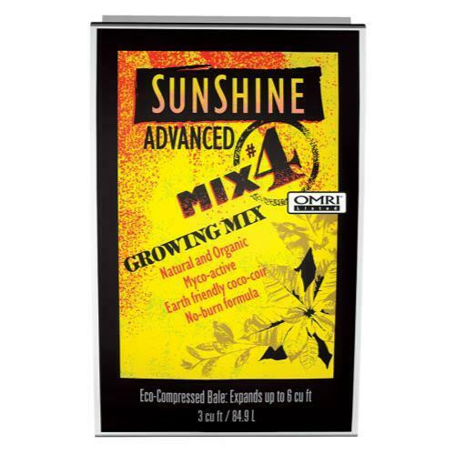 Sunshine Advanced Mix # 4 - 3 cu ft Compressed  (Freight/In-Store Pickup Only) - 1