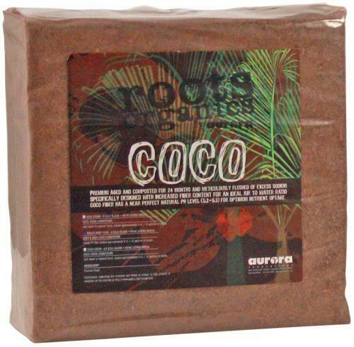 Roots Organics Compressed Coco Fiber 5 kg - 1