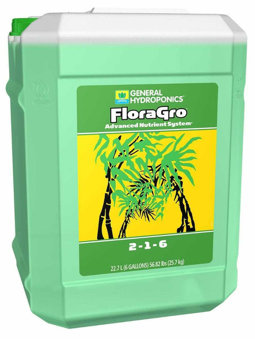 GH Flora Gro 6 Gallon (Freight/In-Store Pickup Only) - 1