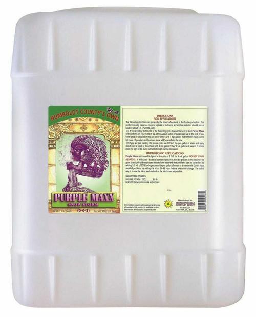 Emerald Triangle Purple Maxx 5 Gallon - 1