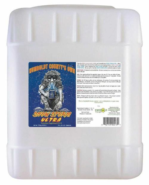 Emerald Triangle Snow Storm Ultra 5 Gallon - 1