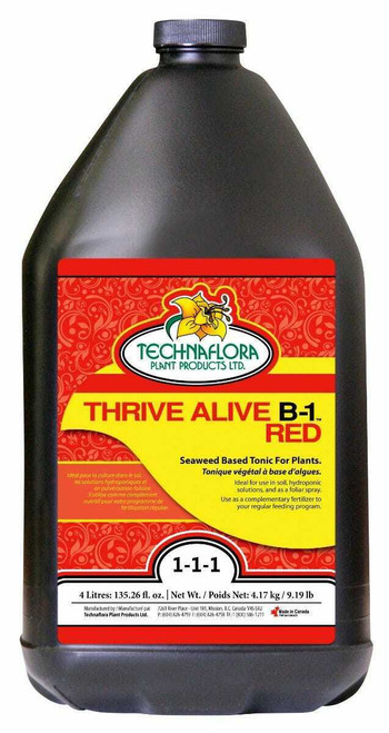 Thrive Alive B-1 Red 4 Liter - 1