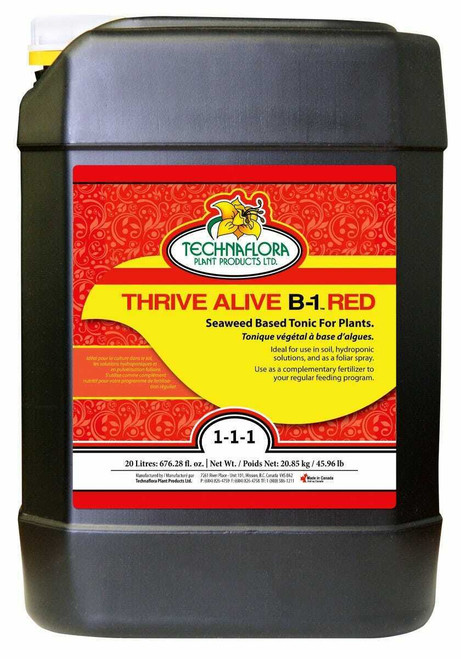 Thrive Alive B-1 Red 20 Liter (Freight/In-Store Pickup Only) - 1