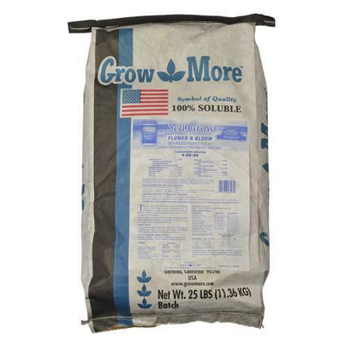 Grow More Sea Grow Flower & Bloom 25 lb (Freight/In-Store Pickup Only) - 1