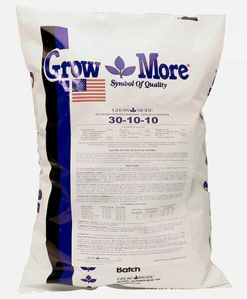 Grow More Foliage Developer (30-10-10) 25 lb - 1