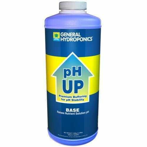 GH pH Up Liquid Quart - 1