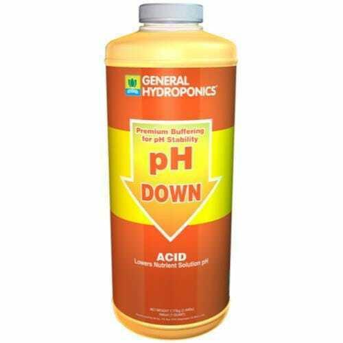 GH pH Down Liquid Quart - 1