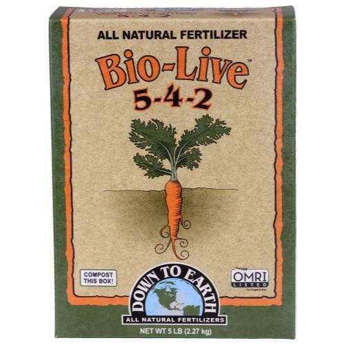 Down To Earth Bio-Live - 5 lb - 1