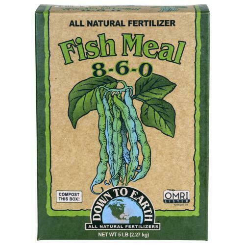 Down To Earth Fish Meal - 5 lb - 1