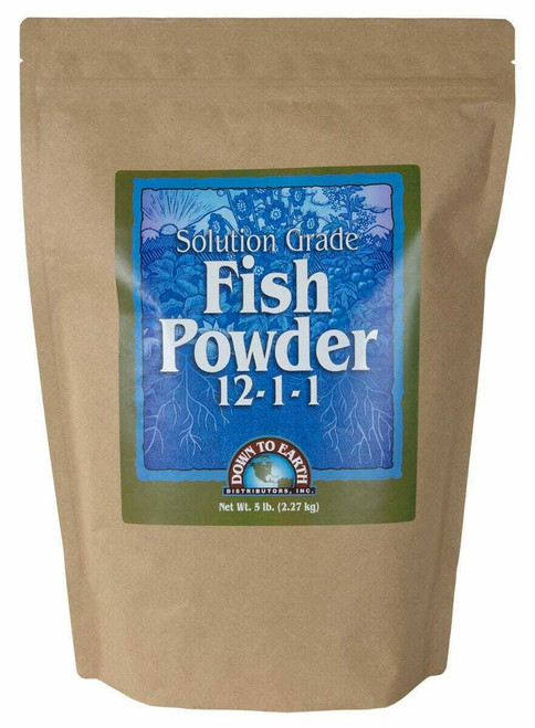 Down To Earth Fish Powder - 5 lb - 1